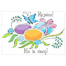 Easter Egg Rejoice Wall Art