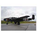 Framed b25 mitchell