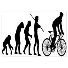 Cycling Evolution Wall Art
