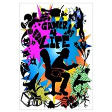 Gamer 4 Life Wall Art
