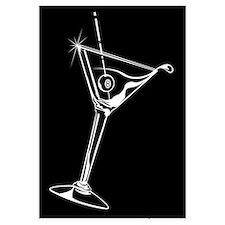 8-Ball Martini Wall Art
