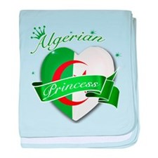 Algerian Princess baby blanket