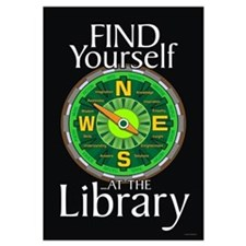 Find Yourself 23x35 Library Poster