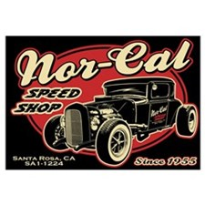 Nor-Cal Speed Shop Wall Art