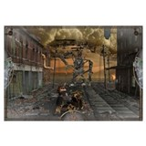 SteamPunk Fighter Wall Art