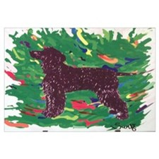 Irish Water Spaniel Wall Art