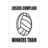Volleyball Winners Train Wall Art