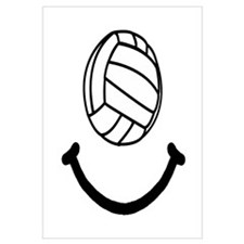 Volleyball Smile Wall Art