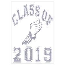 Class Of 2019 Track & Field Wall Art