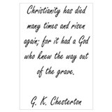 Christianity Rising Wall Art