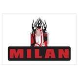 MILAN FLAMES Wall Art