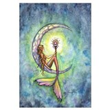 Mermaid Moon Wall Art