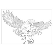 Last Great Act of Defiance - lineart - Wall Art