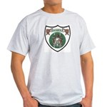 Rhody Coat of Arms Ash Grey T-Shirt