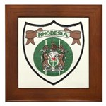Rhodesia Official Seal Framed Tile