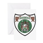 Rhody Coat of Arms Greeting Cards (Pk of 10)