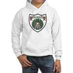 Rhody Coat of Arms Hooded Sweatshirt