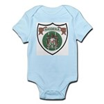Rhody Coat of Arms Infant Creeper