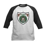 Rhody Coat of Arms Kids Baseball Jersey