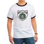 Rhody Coat of Arms Ringer T
