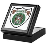 Rhody Coat of Arms Keepsake Box