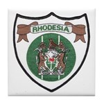 Rhodesia Official Seal Tile Coaster