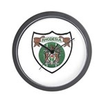Rhodesia Official Seal Wall Clock