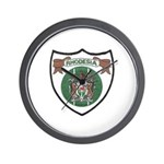 Rhody Coat of Arms Wall Clock