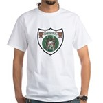 Rhody Coat of Arms White T-Shirt