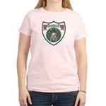 Rhody Coat of Arms Women's Pink T-Shirt
