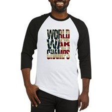 Cute Back back world war champions Baseball Jersey