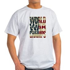 World War Champs - US Flag T-Shirt