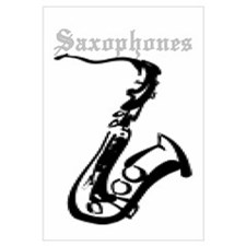 Joe's Saxophones Wall Art