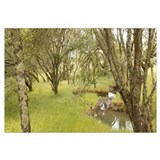 gifts! wine country panoramic Wall Art