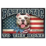 Patriotic - Pit Bull Wall Art