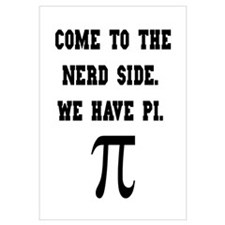 Nerd Side Pi Wall Art
