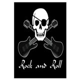 Rock and Roll Pirate Wall Art