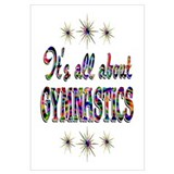 About Gymnastics Wall Art