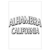 Alhambra California Wall Art
