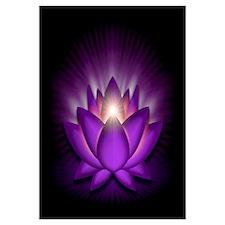 "Violet ""Crown"" Chakra Lotus Wall Art"