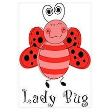 Ladybug Wall Art