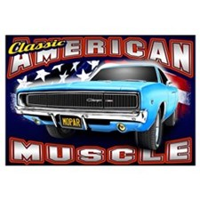 American Muscle - Charger Wall Art