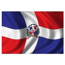Flag of the Dominican Republic Wall Art