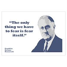 Roosevelt - Fear Wall Art