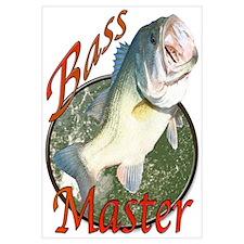 Bass master Wall Art