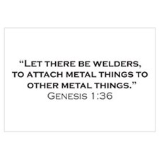 Welders / Genesis Wall Art
