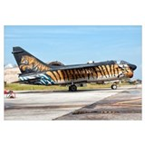 A custom painted A-7 Corsair II of the Hellenic Ai