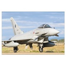 A Eurofighter 2000 Typhoon of the Italian Air Forc