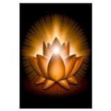 "Orange ""Sacral"" Chakra Lotus Wall Art"