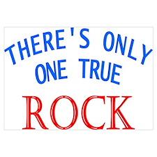 One True Rock Wall Art